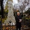 11-Pfarrer Jürgen Quandt (Vorsitzender Ev. Friedhofsverband Berlin Stadtmitte) spricht während der Übergabe am 22. November 2013 am Grab von Heinrich von Stephan