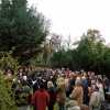 Wandelkonzert an den Gräbern von Paul, Else und Enole Mendelssohn Bartholdy, Berliner Singakademie, Leitung Achim Zimmermann