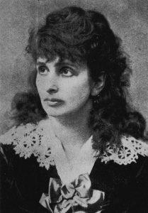 Hedwig Dohm im Jahre 1870
